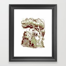 Intersectional Nature Framed Art Print