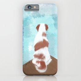 Deschutes The Brittany Spaniel iPhone Case