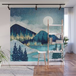 Morning Stars Wall Mural