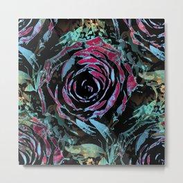 Mysterious roses Metal Print