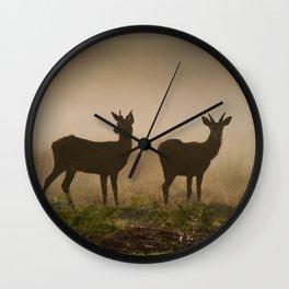 Richmond Park - 53, September 2015 Wall Clock