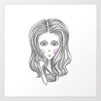 buffy the vampire slayer Art Prints featuring Buffy the Vampire Slayer by Pinecones