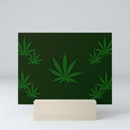Weed Mini Art Print