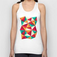 diamond Tank Tops featuring Diamond by Azarias