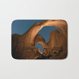 Double Arch In Arches National Park Bath Mat