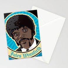 Jules Winnfield Portrait Stationery Cards