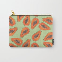 papaya summer pattern Carry-All Pouch