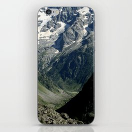 Hiking in the french Alps iPhone Skin