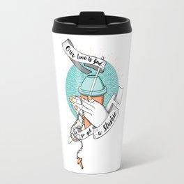 Our love is God Travel Mug