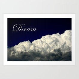 Dreaming Without Limits Art Print