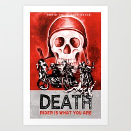 Death Rider III Art Print