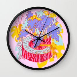 Jungle Fever G Wall Clock