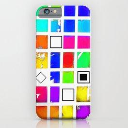 Square and Rhombus iPhone Case