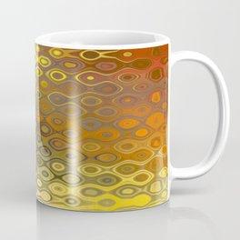 Wobbly Dots in yellow-orange Coffee Mug