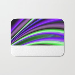 Abstract Fractal Colorways 01PL Bath Mat