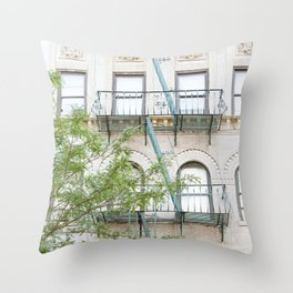 Oh So Soho, New York City Photograph Throw Pillow