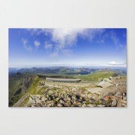 Snowdon Cafe Canvas Print
