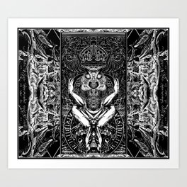 3:33 Live From the Grove - Moloch print Art Print