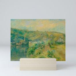 ALBERT LEBOURG (Montfort-sur-Risle from 1849 to 1928 Rouen) The Seine at La Bouille. 1904. Mini Art Print