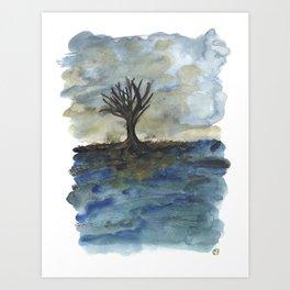 In Limbo - Heavy Weather Art Print