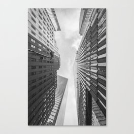 WORLD TRADE CENTER AND SURROUNDS Canvas Print