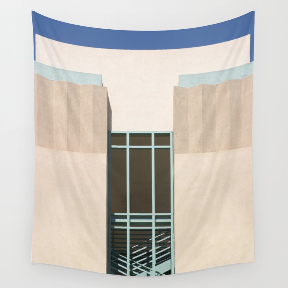 Stairs Tower Wall Tapestry by Hlehnerer TPS6602043
