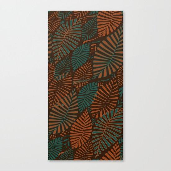 ORGANIC LEAVES Canvas Print