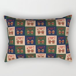 Gingerbread Love Thank You - AOP Rectangular Pillow