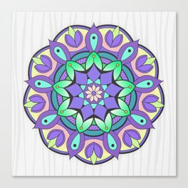 Mandala Awakening 2 Canvas Print