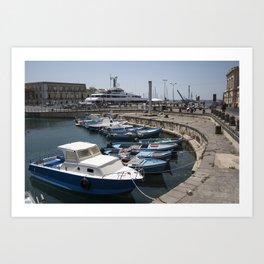 Harbor Art Print