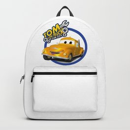 Tom the Tow Truck of Car City Backpack