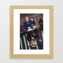 Hannibal Reversible Poster - Series 1 Framed Art Print