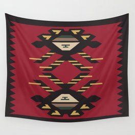 American Native Pattern No. 33 Wall Tapestry