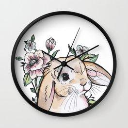 Rabbit  - Bunny  Wall Clock