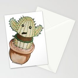 Cute Cut Cactus Stationery Cards