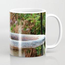 Bluebird On Birdbath Coffee Mug