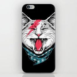 Cat Rock iPhone Skin