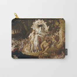 Sir Joseph Noel Paton - The Reconciliation Of Oberon And Titania. Carry-All Pouch