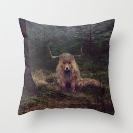 Hybrid Conception Throw Pillow