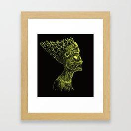 Queen of the Deep Ones Framed Art Print
