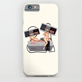 Video Game Pin-ups  iPhone Case