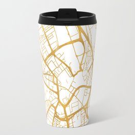 BRADFORD ENGLAND CITY STREET MAP ART Travel Mug
