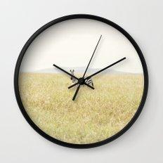 picture perfect::kenya Wall Clock