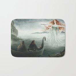 Lady of the Lake Bath Mat