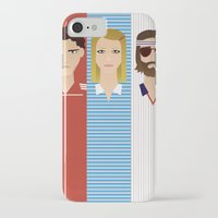 tenenbaum iPhone & iPod Cases featuring The Children Tenenbaum by Brandon Autry
