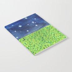 Grass & Stars Notebook
