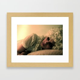 Off With Her Head (2) Framed Art Print