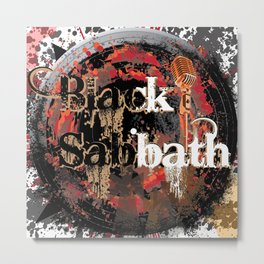 BlackSabbath Metal Print