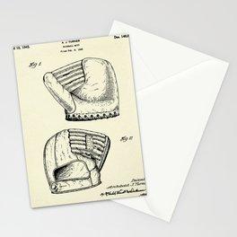 Baseball Mitt-1945 Stationery Cards