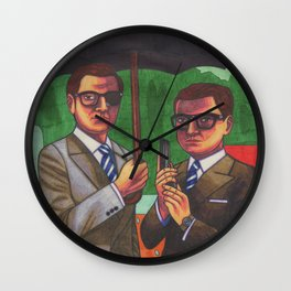 Suited Wall Clock